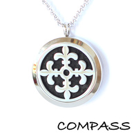 Stainless Steel Diffuser Pendant - Compass
