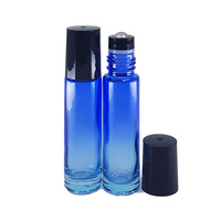 10ml Blue Ombre Thick Glass Roller Bottle