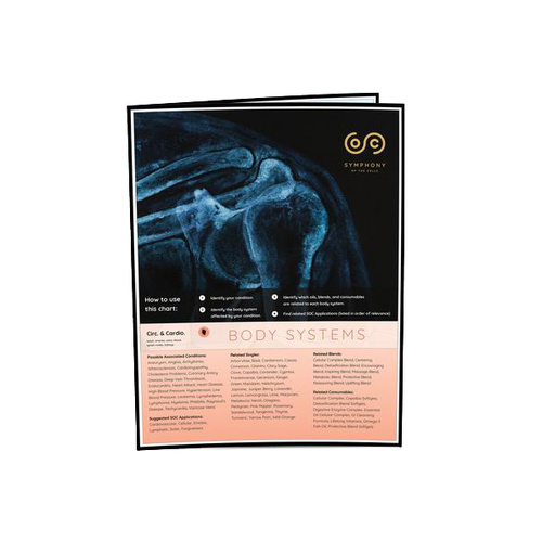 Symphony of the Cells Body Systems Chart - 5 Pack