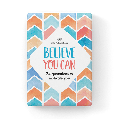 Little Affirmations - Believe You Can Cards