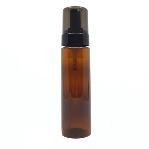 200ml Amber Foamer Pump Bottle