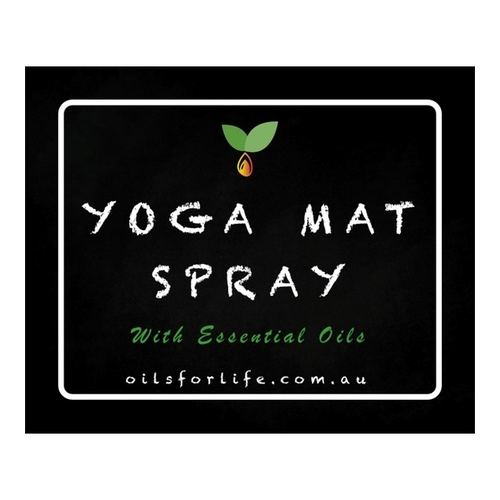 Yoga Mat Spray Label
