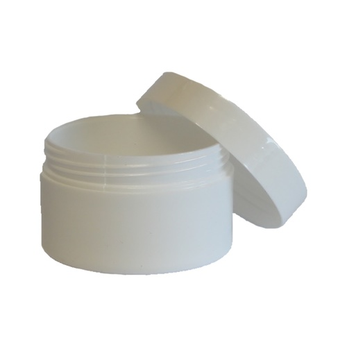 Lip Balm Container - 25g White Pot