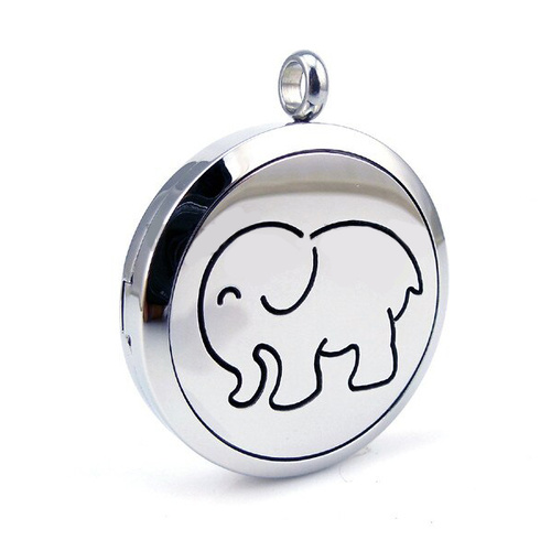 Stainless Steel Diffuser Pendant - Elephant